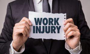 Work Injury Sign