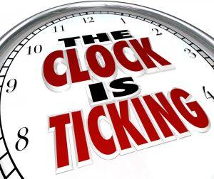 Clock Is Ticking Stopwatch