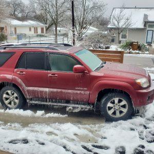Austin, Texas Ice Storm