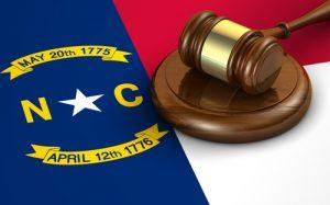North Carolina Flag Gavel